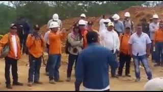 Intimidaciones en jornada protesta USO Meta en ISMOCOL Acacias