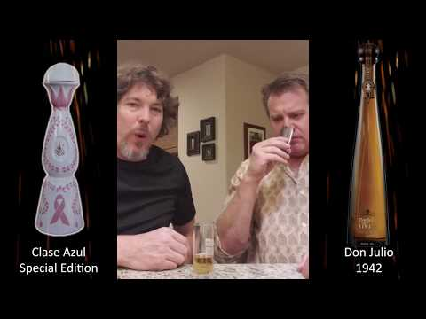 Tequila Review: Clase Azul Tequila and Don Julio 1942