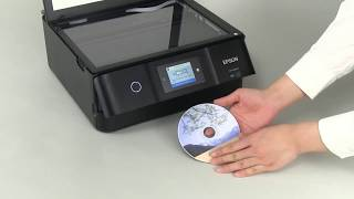 How to Copy CD/DVD Labels   (Epson XP-8500) NPD5912