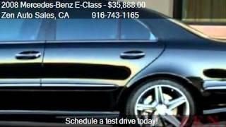 2008 Mercedes-Benz E-Class E63 AMG Sport P2 Pkg  - for sale