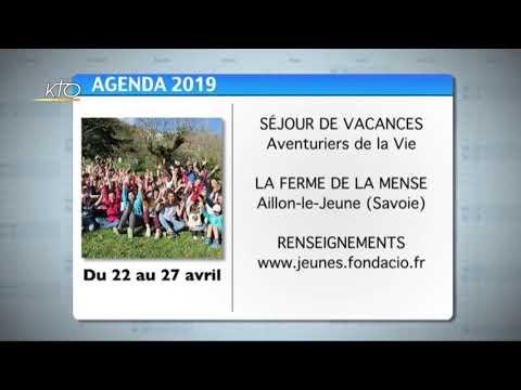 Agenda du 5 avril 2019