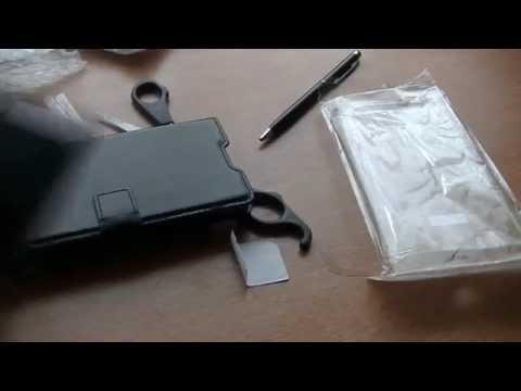 Huawei P8 Lite Ledertasche von Vanlog | Unboxing #1