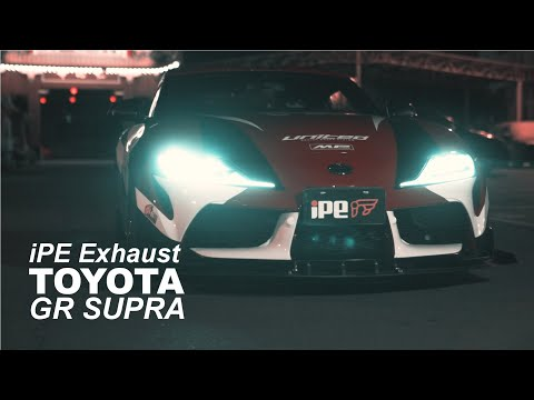 """Why Asians call the Toyota Supra """"The Bull Demon King"""" iPE Exhaust Crazy sound"""