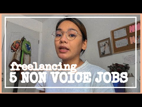5 Non Voice Freelancing Jobs ( No Experience Needed) | Freelancing Jobs Philippines