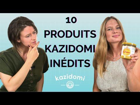 Les 10 produits Kazidomi inédits