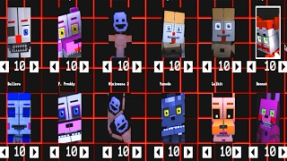 Five Nights at Freddy's: Sister Location Animatronics [Minecraft]