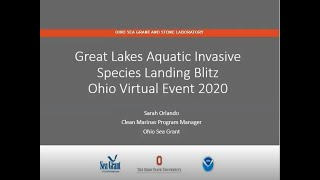 Great Lakes Aquatic Invasive Species Landing Blitz