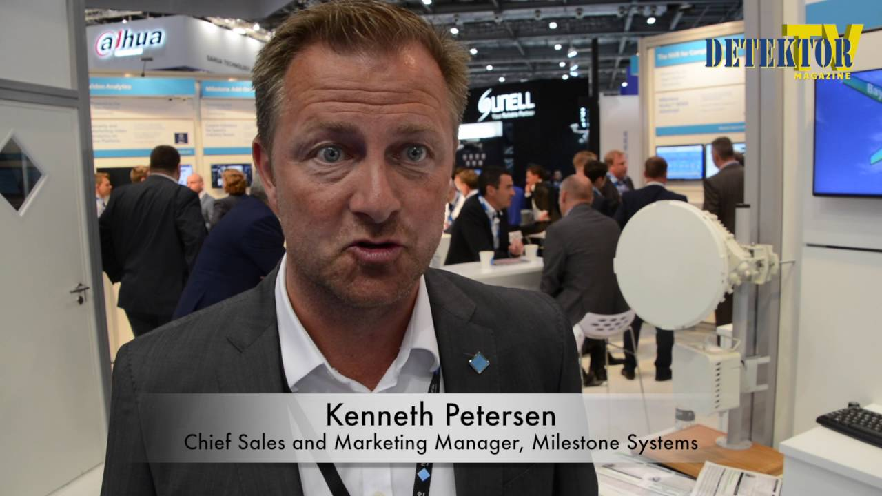 Web TV: Interview with Kenneth Petersen, Milestone Systems