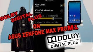 install dolby digital plus on asus zenfone max pro m1 - Kênh video