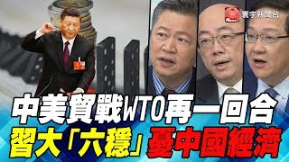 中美貿戰WTO再一回合 習大「六穩」憂中國經濟|寰宇全視界20191214-2