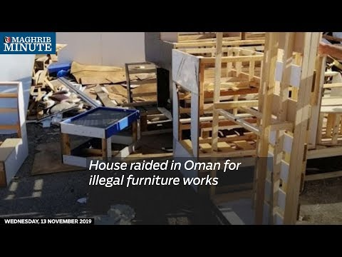 House raided in Oman for illegal furniture works