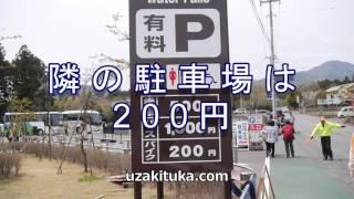 「白糸の滝」P200円静岡県観光幅200㍍!日本最大幅の滝!