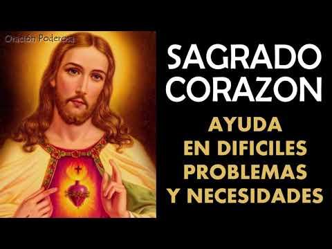 Sagrado Corazón, oración para pedir ayuda en dificiles problemas y necesidades