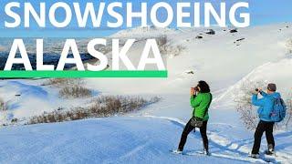 Guests visit Caribou Lodge Alaska During The Winter