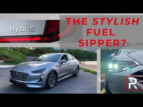 The 2020 Hyundai Sonata Hybrid Is A 51 MPG Sleek Sedan You Can't Ignore