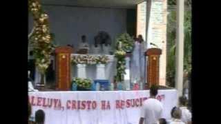 preview picture of video 'misa de resurrección parroquia de Acajutla'