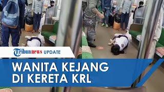 Wanita Kejang-kejang di KRL Stasiun Tanah Abang, Penumpang Geger dan Tak Ada yang Berani Mendekat