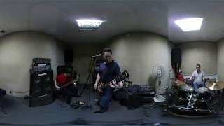 Группа Пазитифф. На репетиции. 360 видео Кемерово. 3