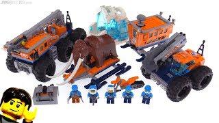 LEGO City Arctic Mobile Exploration Base review! 60195