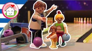 Playmobil ταινία Bowling με την οικογένεια Οικονόμου