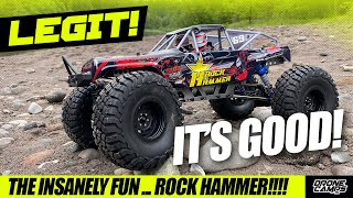BEST ROCK CRAWLER for the Money! - RGT Rock Hammer - REVIEW, ROCK, & WATER TEST!