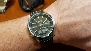 Casio Lineage LCW-M100DSE-1AER - unboxing, try on and comparison