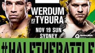UFC Sydney: Werdum vs Tybura Bets, Picks, Predictions on Half The Battle