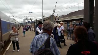 Quimper cornemuse TGV Grand Ouest - Quai