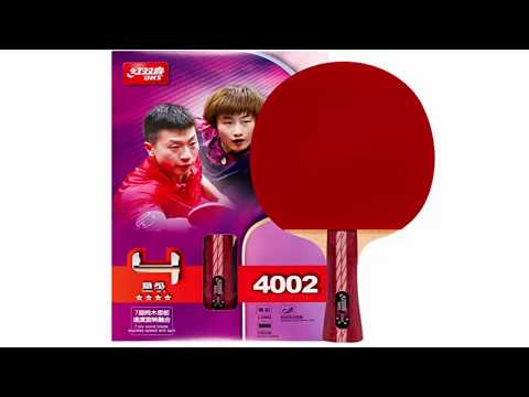 DHS a4002 table tennis bat | dhs table tennis racket review