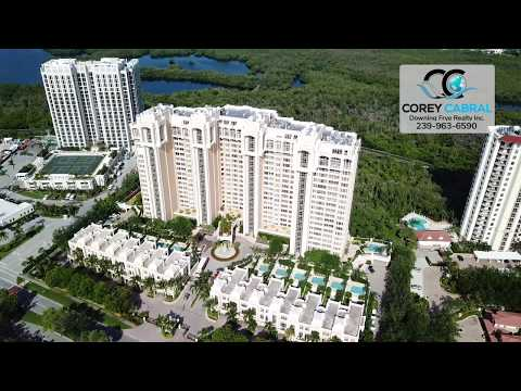 Pelican Bay St. Raphael Naples Florida 360 degree fly over video