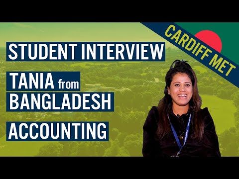 Student Interview | Accounting | Bangladesh - Study in the UK | Cardiff Met International