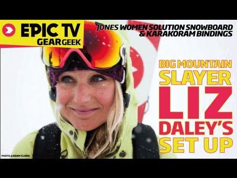 Jones Snowboards Women's Solution Splitboard & Splitboard Karakoram bindings review with Liz Daley