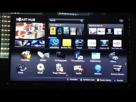 Mit Samsung Smart TV Sendungen aufnehmen -  Anleitung: Mit Samsung Smart TV Sendungen aufnehmen