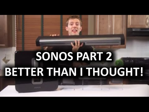 SONOS Wireless HiFi Speaker System Part 2