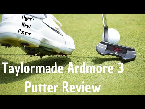 Tiger Woods New Putter – Taylormade Ardmore 3 Review