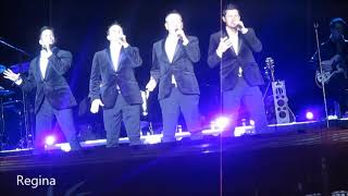 """Please Come Home For Christmas"" by 98 Degrees at Magic City Casino in Miami, FL on 12/9/17"