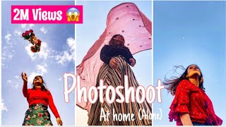 How I Take Instagram Pictures By Myself | Photo Shoot At Home With SKY, Picture Ideas For Instagram