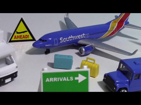 L'aeroporto gioca sud-ovest Airbus modello giocattolo 【aereo giocattolo】02771+it