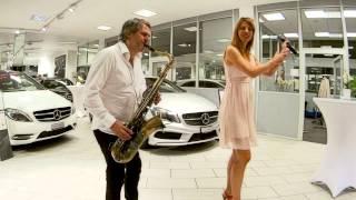 Mustang Sally - Jessy Howe & G-SAX @ Mercedes Zurich
