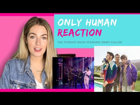 "Jonas Brothers ""Only Human"" Live - REACTION"