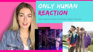 """Jonas Brothers """"Only Human"""" Live   REACTION"""