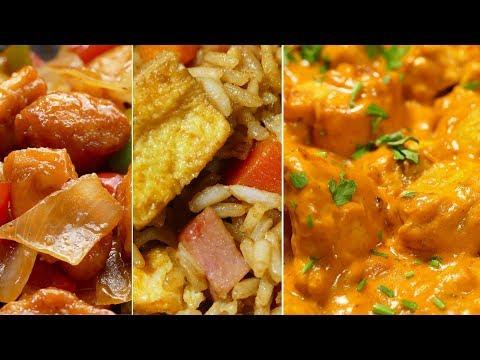 3 recetas de comida china ¡RAPIDAS Y FACILES DE HACER!