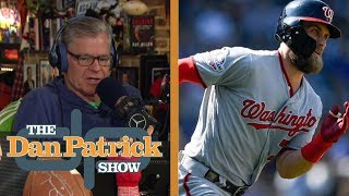 Bryce Harper's decision prolonged by various factors | The Dan Patrick Show | NBC Sports