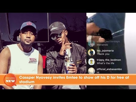 Emtee Reveals The Real Reason Why He Will Never Work With Cassper Nyovest