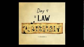(#17 5980) Day 4 - The Law