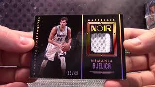 2016/17 Panini NOIR Basketball 2 Box 1/2 Case Serial #s GB