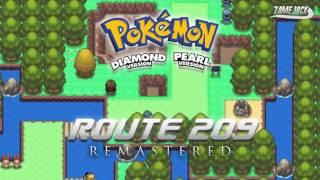 Pokémon D/P/Pt: Route 209 (Remastered)