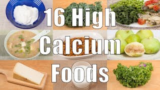 16 High Calcium Foods (700 Calorie Meals) DiTuro Productions