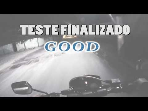 Teste Drive Moto Texas 150CC