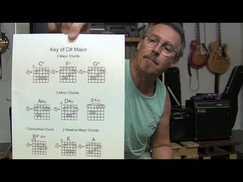 Key of C# Chords & Scales & More Made Easy L20